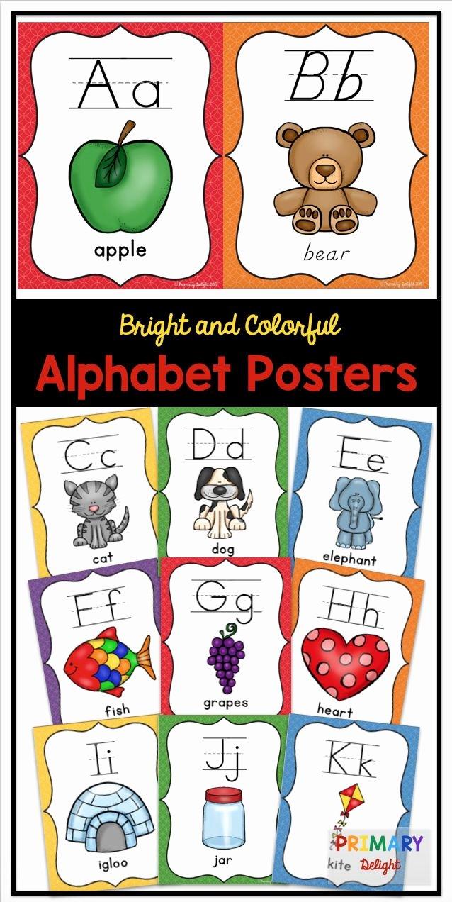 Alphabet Poster for Classroom Beautiful Best 25 Alphabet Posters Ideas On Pinterest