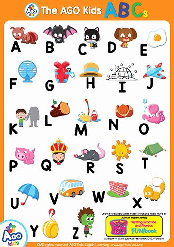 Alphabet Poster for Classroom New Free Esl Efl Abcs and 123s Alphabet Posters Numbers