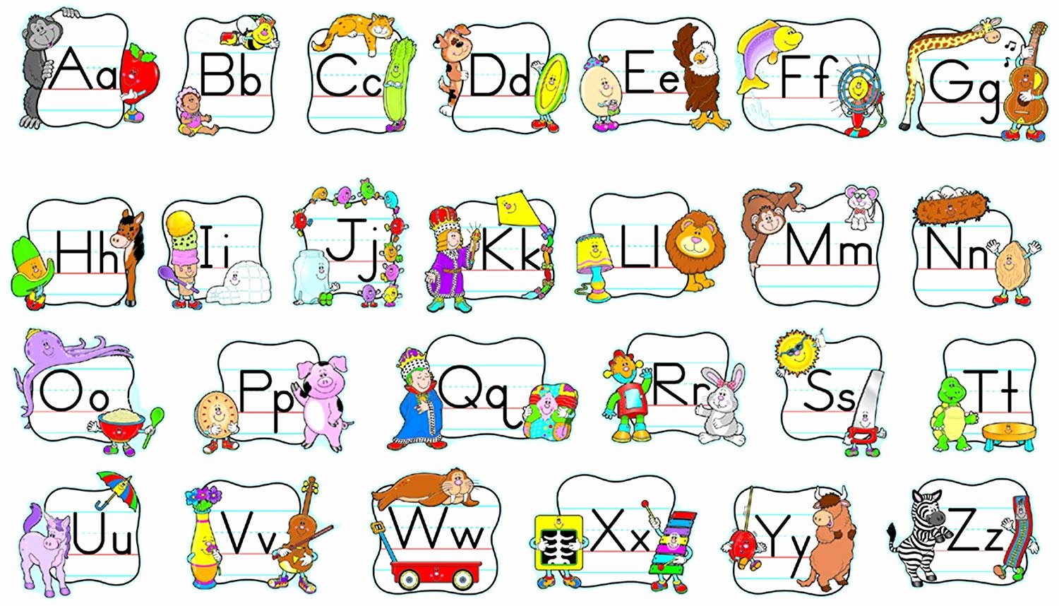 Alphabet Poster for Classroom New Outlet