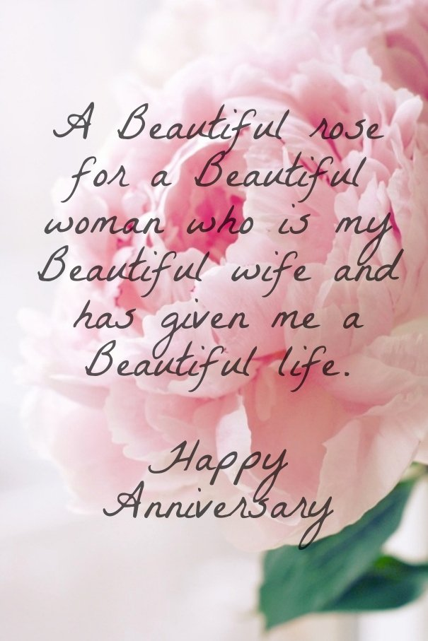 Anniversary Letter to Wife Beautiful Sweet Anniversary Quotes for Wife Quotesgram