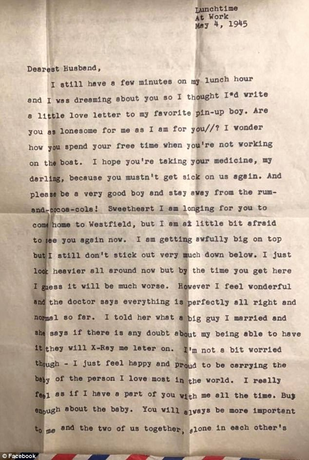 Anniversary Letter to Wife Beautiful Wwii Veteran S Love Letter From His Late Wife