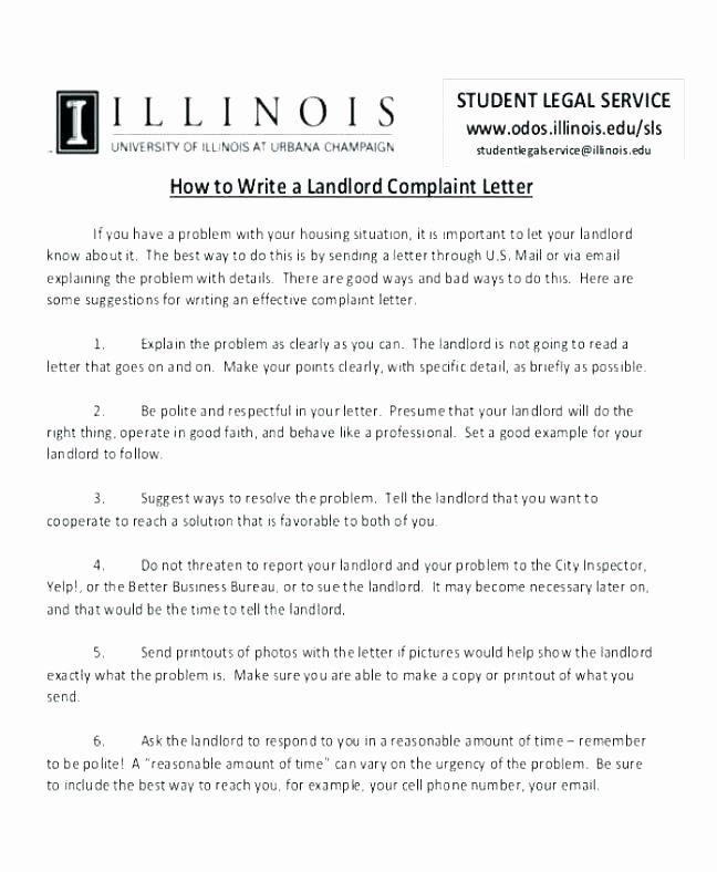 Apartment Noise Complaint Letter Elegant Letter Plaint Airline