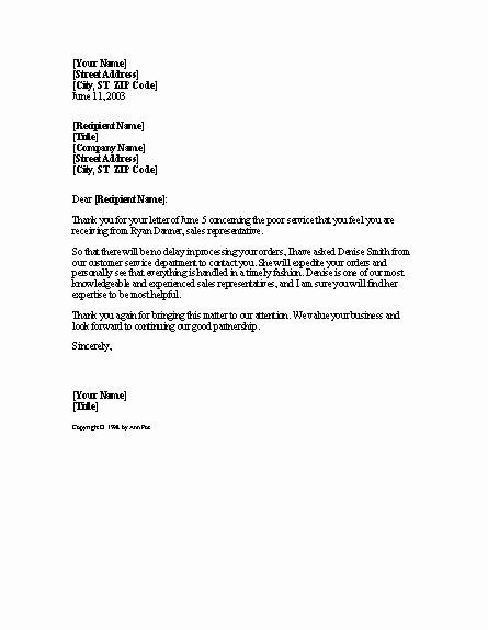 Apartment Noise Complaint Letter Elegant Plaint Resolution Letter Templates Colors