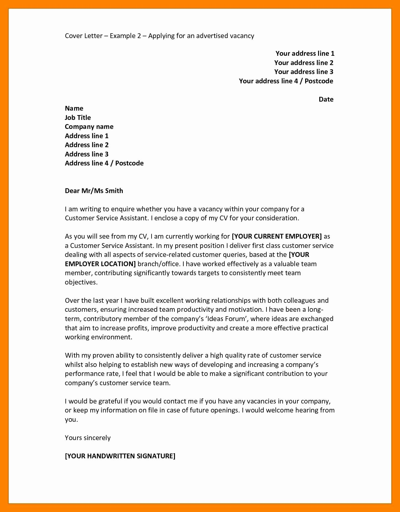 Application for A Job Letter Beautiful 9 German Cover Letter