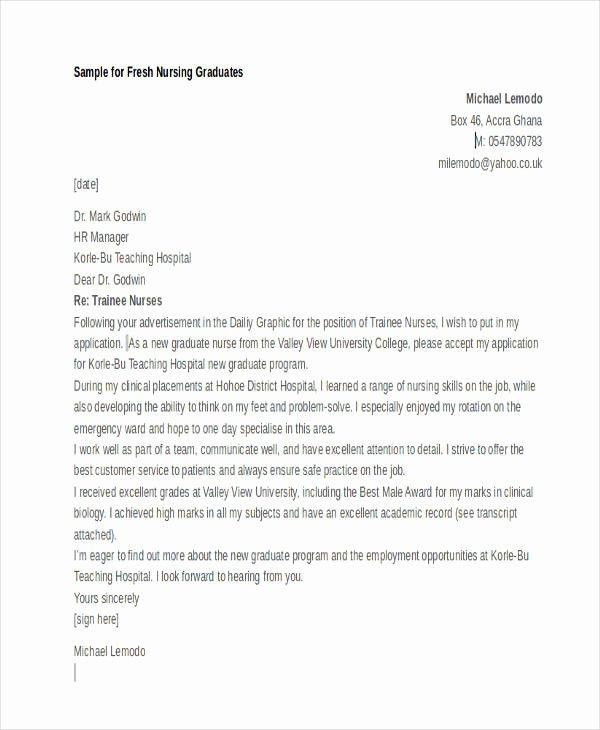 Apply for Job Letter Lovely 11 Sample Job Application Letters for Fresher Graduates