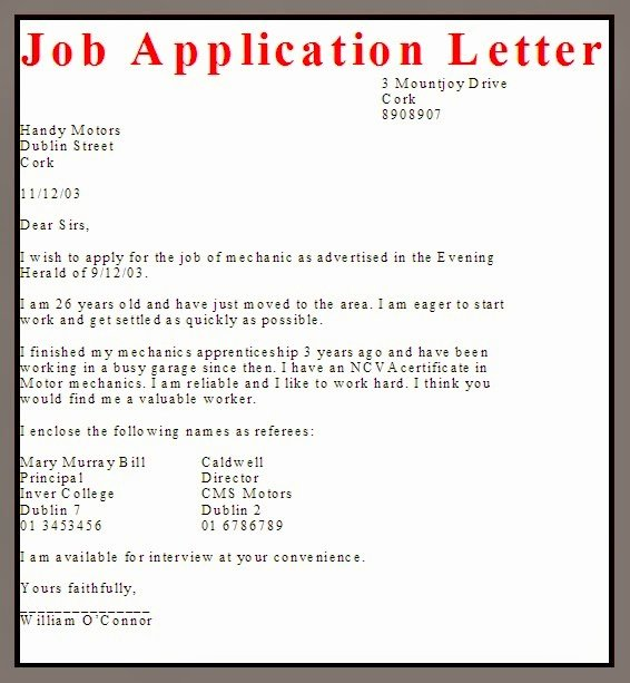 Applying for Job Letter Beautiful Business Letter Examples Job Application Letter