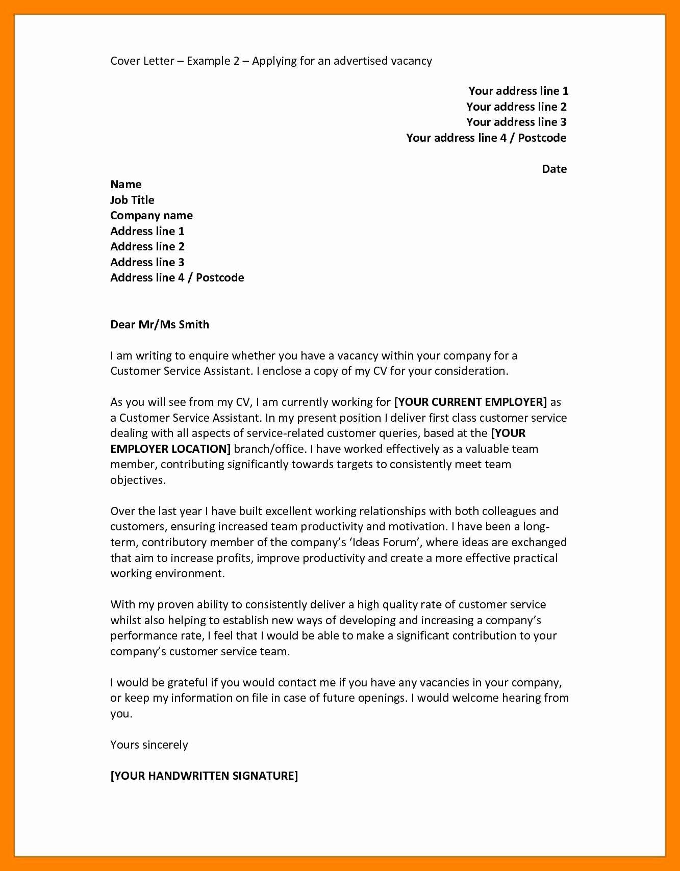Applying for Job Letter Lovely 9 German Cover Letter