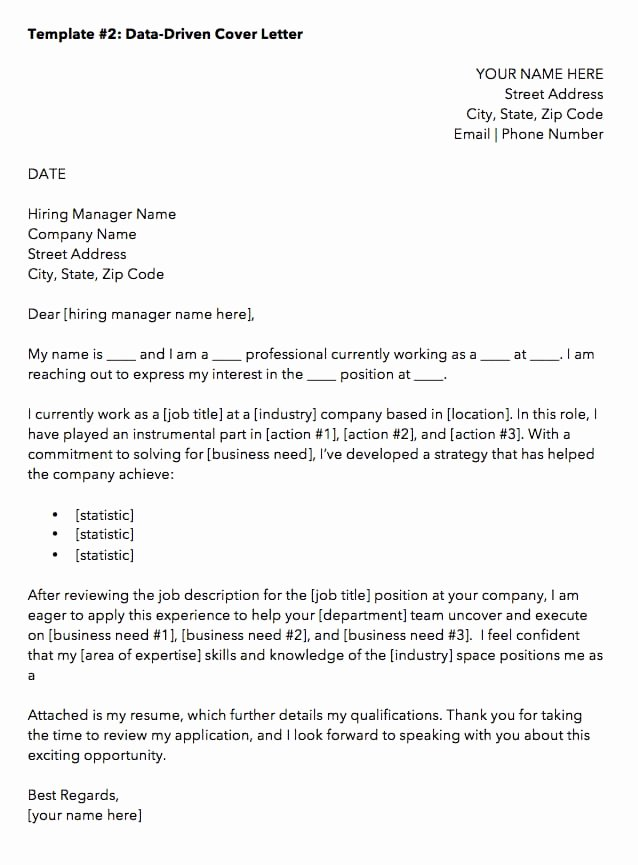 Applying for Job Letters New 10 Cover Letter Templates to Perfect Your Next Job Application