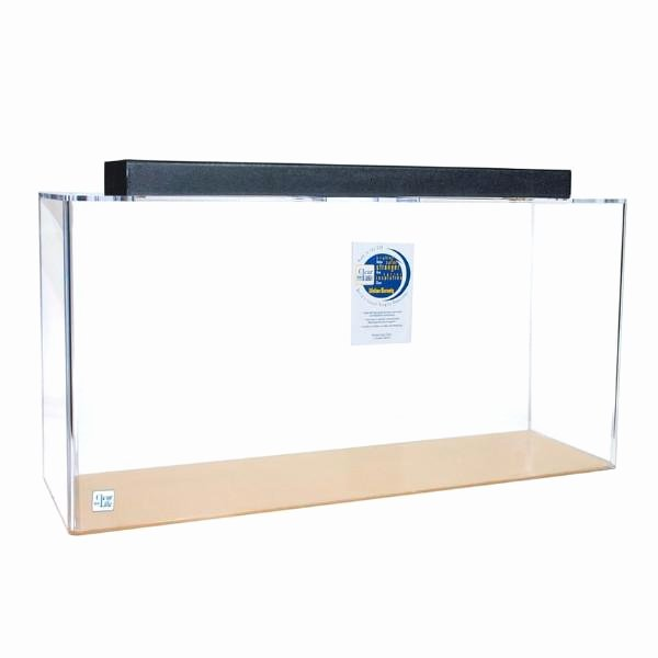 Aquarium Backgrounds 55 Gallon Elegant Clear for Life Rectangle 55 Gallon Acrylic Aquarium