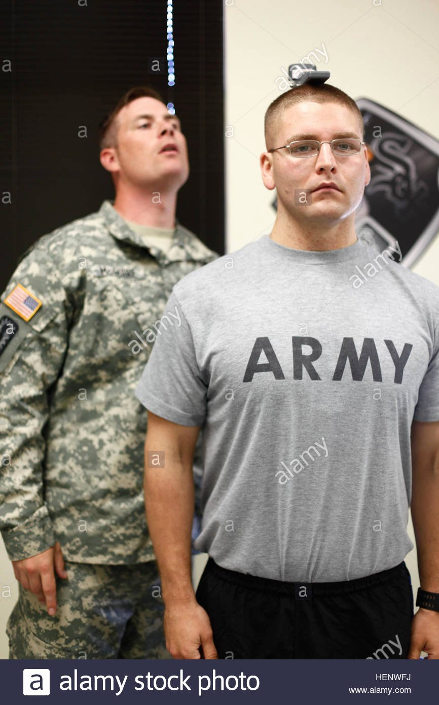 Army Weight and Tape Fresh U S Army Sgt Joshua Roberts Starts the Height Weight