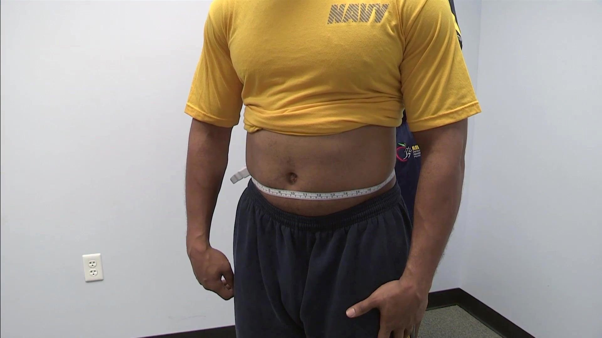 Army Weight and Tape Lovely Body Fat Measurement System In the Military