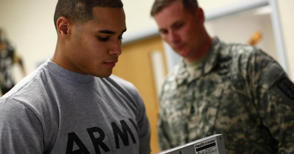 Army Weight and Tape Luxury Army Major Writes Ultimate Take Down Of Senseless Tape Test