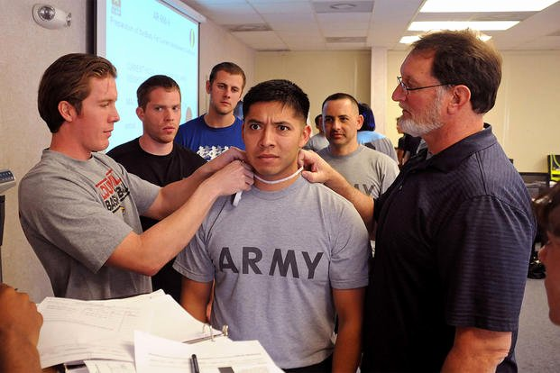 Army Weight and Tape Luxury Body Position Tests