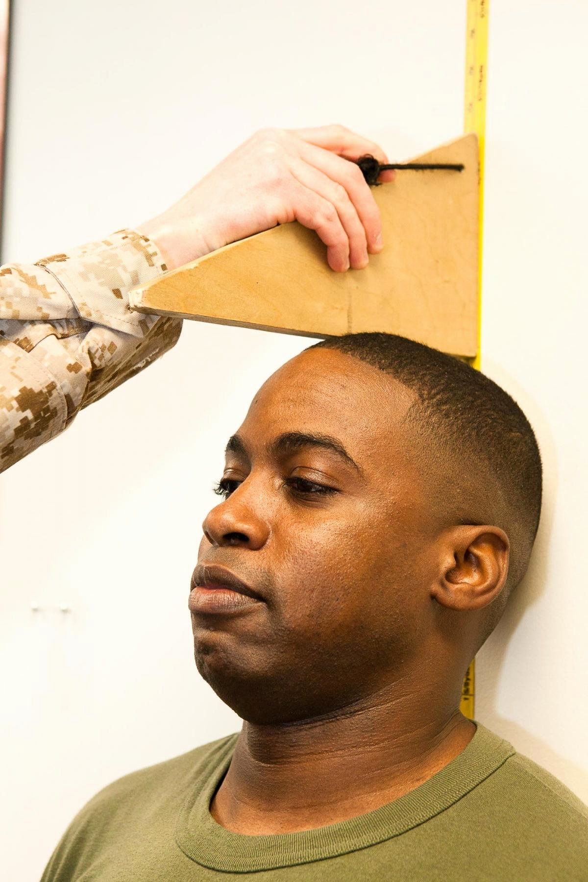 Army Weight and Tape Luxury Marines Measure Up and Weigh In Article