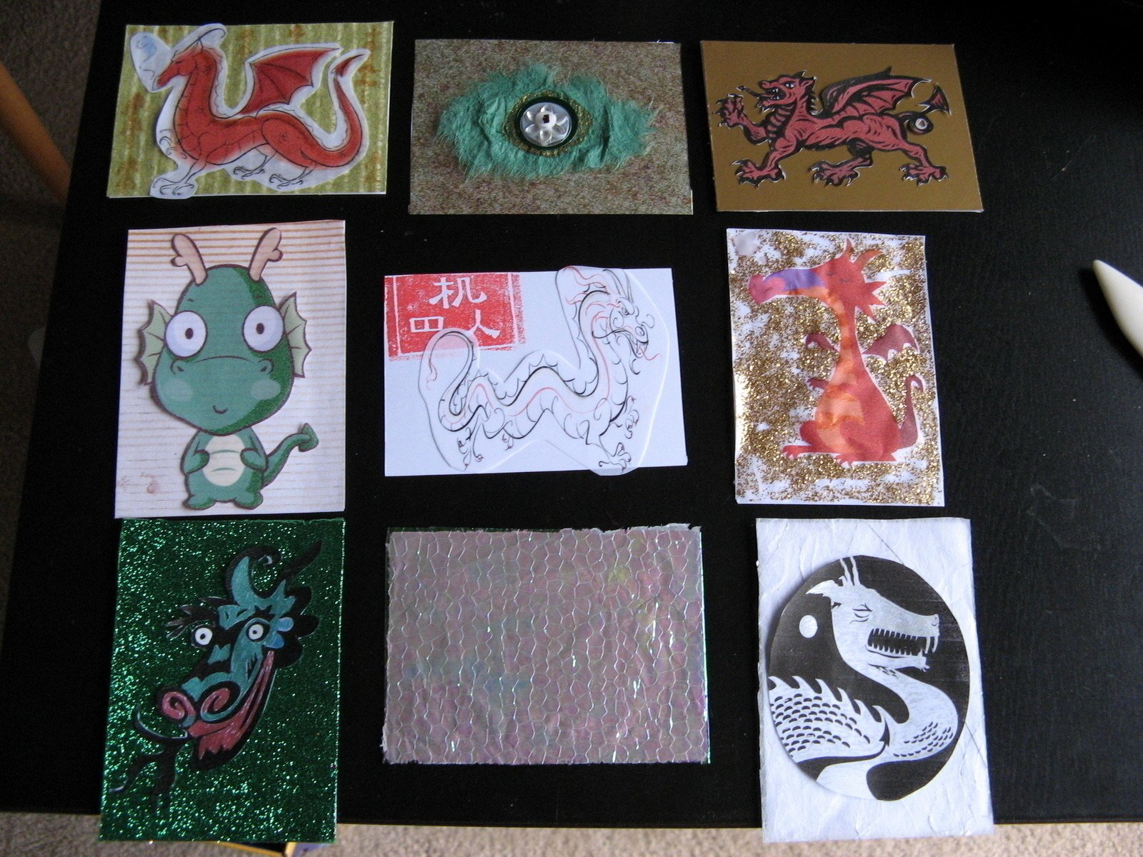 Artist Trading Cards Template Inspirational atc Backs · How to Make An Artist Trading Card · Collage