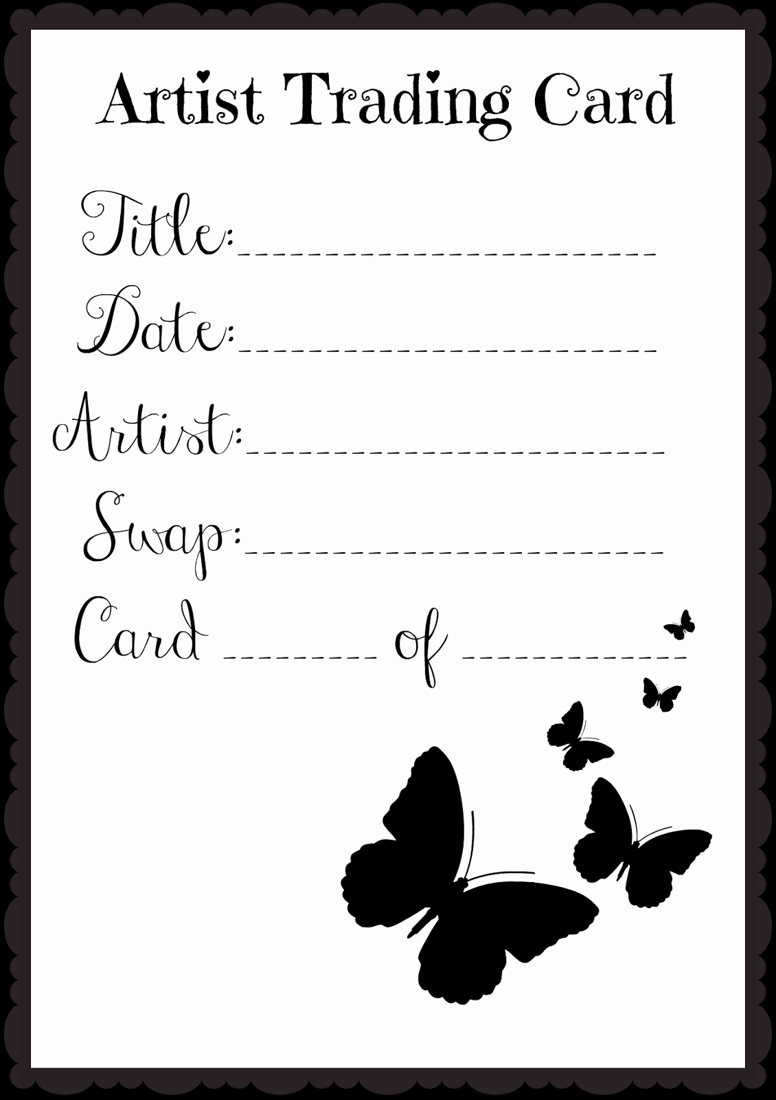 Artist Trading Cards Template Inspirational In This Little Corner Happy Three Kings Day Epiphany