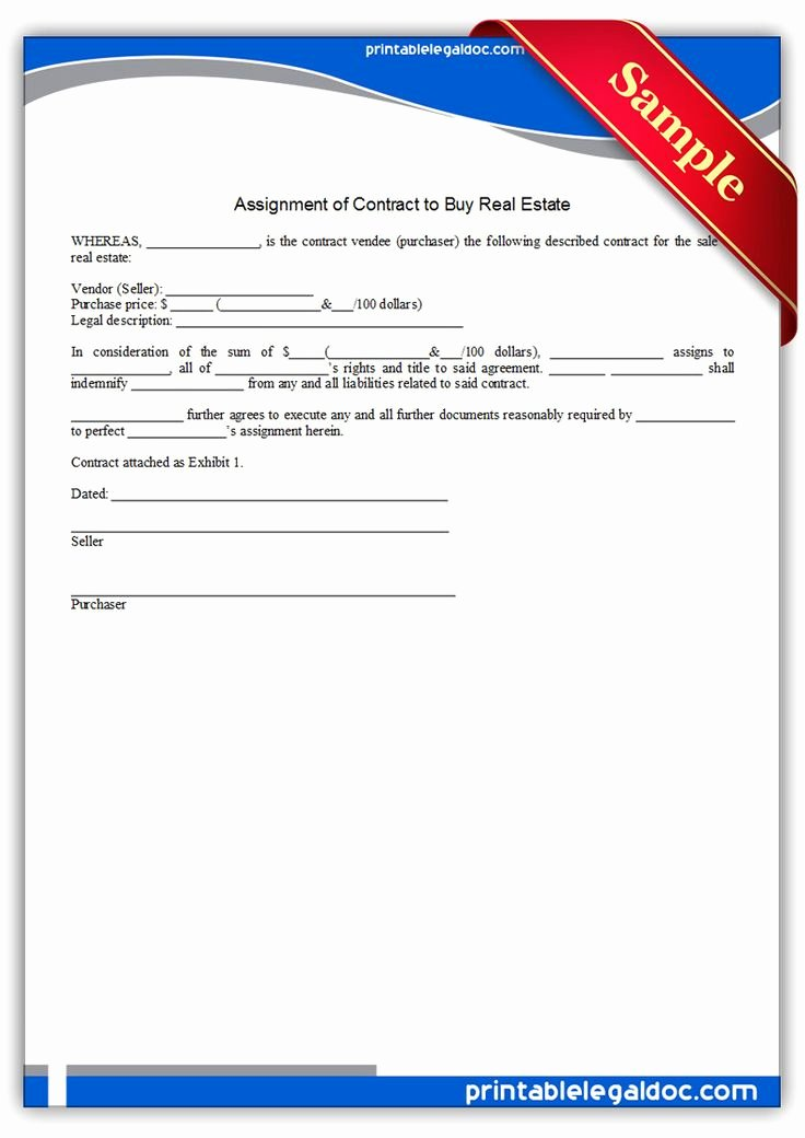 Assignment Of Contract Template Fresh Best Ideas About Template Printable Printable Legal forms