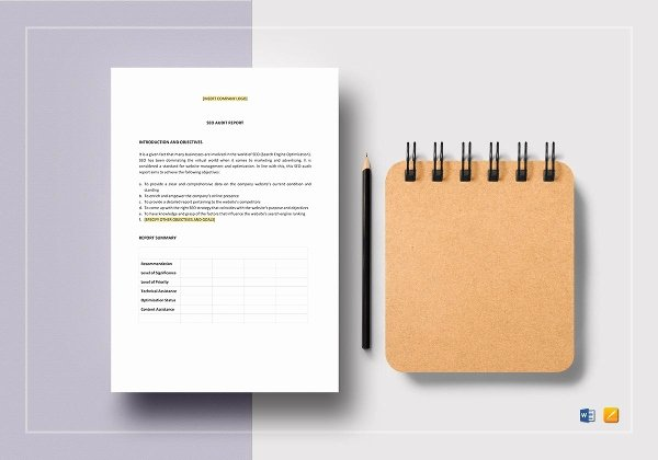 Audit Report Template Word Unique 23 Audit Report Templates Docs Pdf Pages