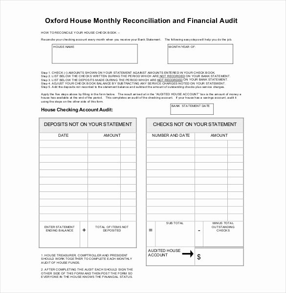 Audit Report Template Word Unique 31 Audit Report Templates Free Sample Pdf Word format