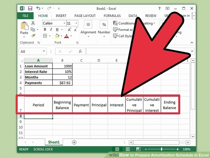 Auto Amortization Schedule Excel Inspirational How to Prepare Amortization Schedule In Excel 10 Steps