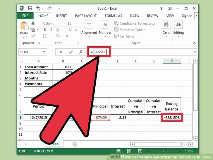 Auto Amortization Schedule Excel Lovely How to Prepare Amortization Schedule In Excel 10 Steps