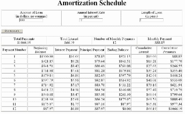 Auto Amortization Schedule Excel Luxury 6 Amortization Schedules Excel – Word Templates