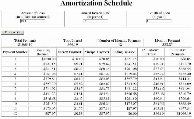 Auto Amortization Schedule Excel Luxury 6 Amortization Schedules Excel – Word Templates