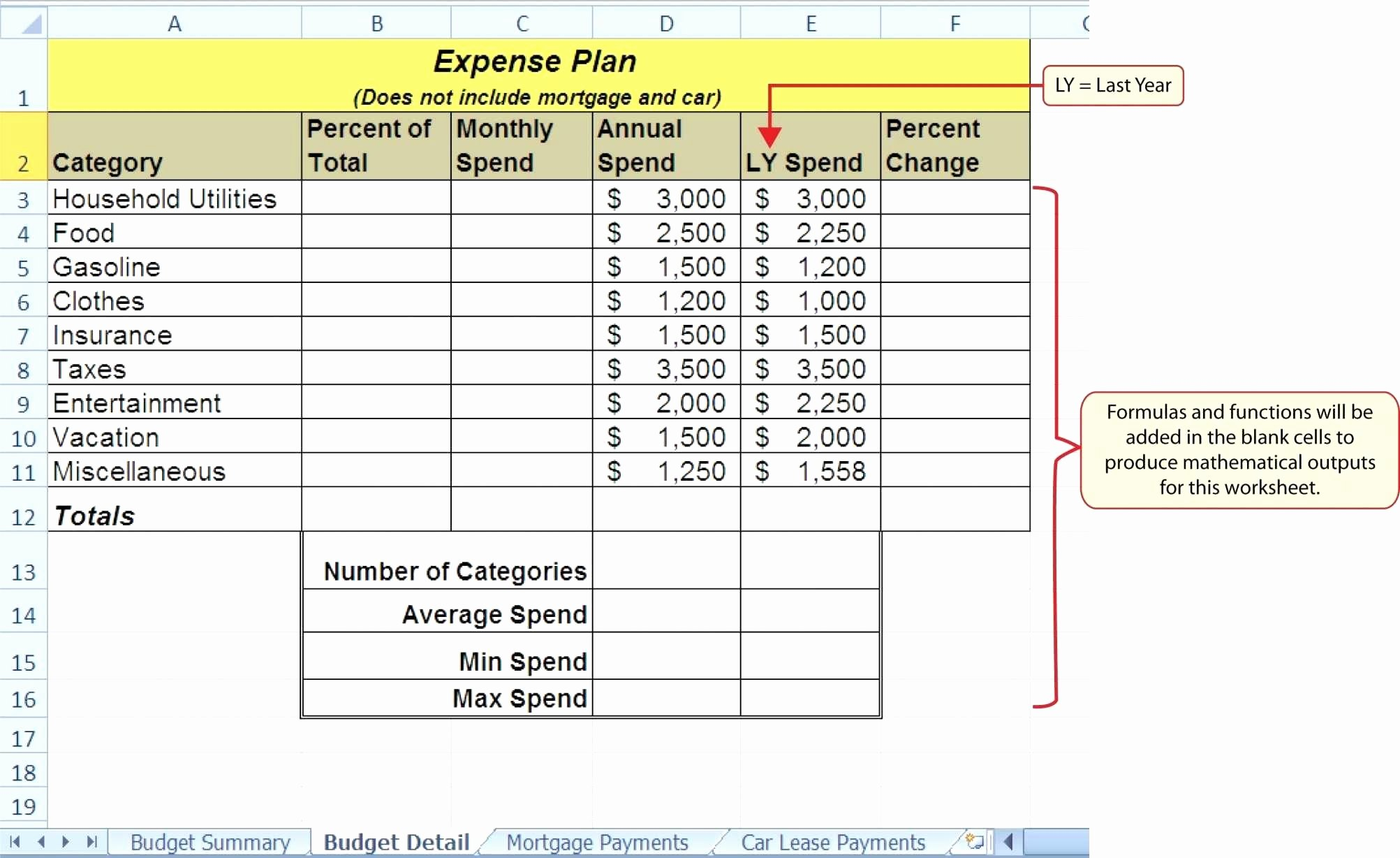Auto Amortization Schedule Excel New Lease Amortization Schedule Excel Template