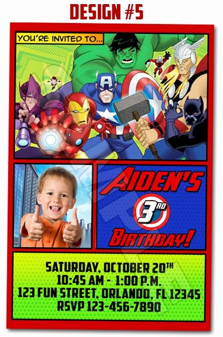 Avenger Birthday Party Invitations Elegant 51 Best Images About Avengers Invitations On Pinterest