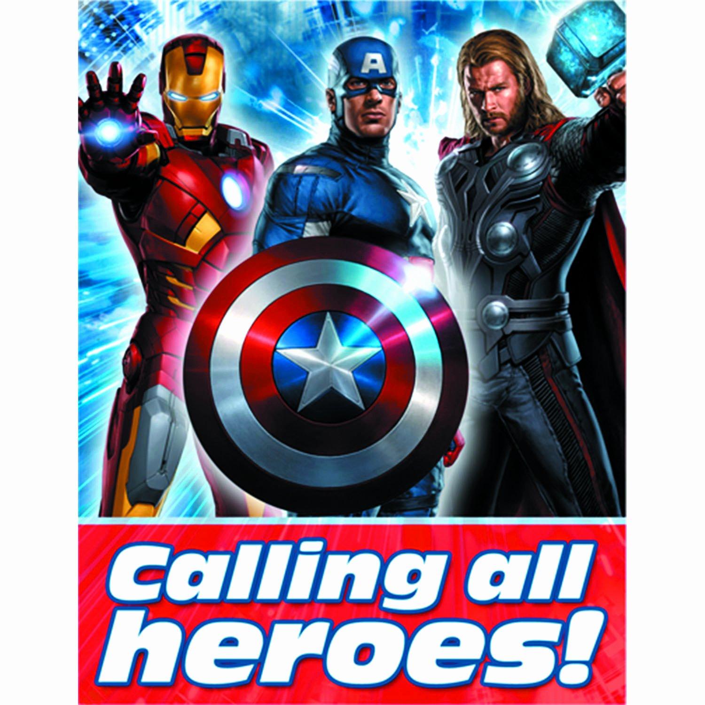Avenger Birthday Party Invitations Inspirational Previewsworld Avengers Party Invitations 8pk C 0 1 3