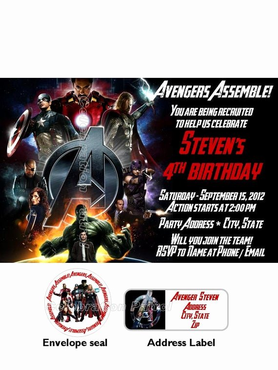 Avengers Birthday Invitations Custom Beautiful 301 Moved Permanently