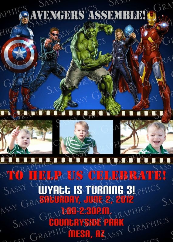 Avengers Invitations Template Free New Avengers Invitations so Cute