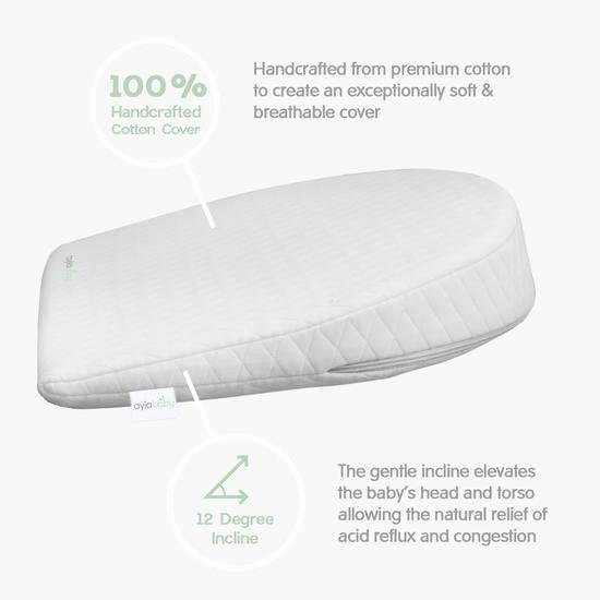 Babies R Us Sleep Positioner Inspirational Ayla Baby Bassinet Wedge Pillow for Infant and Rebatekey