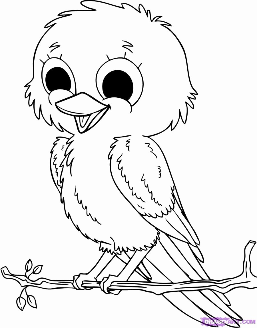 Baby Animal Colouring Pictures Inspirational Baby Animals Coloring Pages to Kids