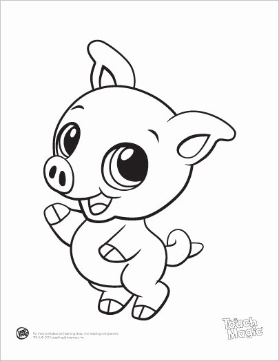 Baby Animal Colouring Pictures Lovely Learning Friends Pig Baby Animal Coloring Printable From