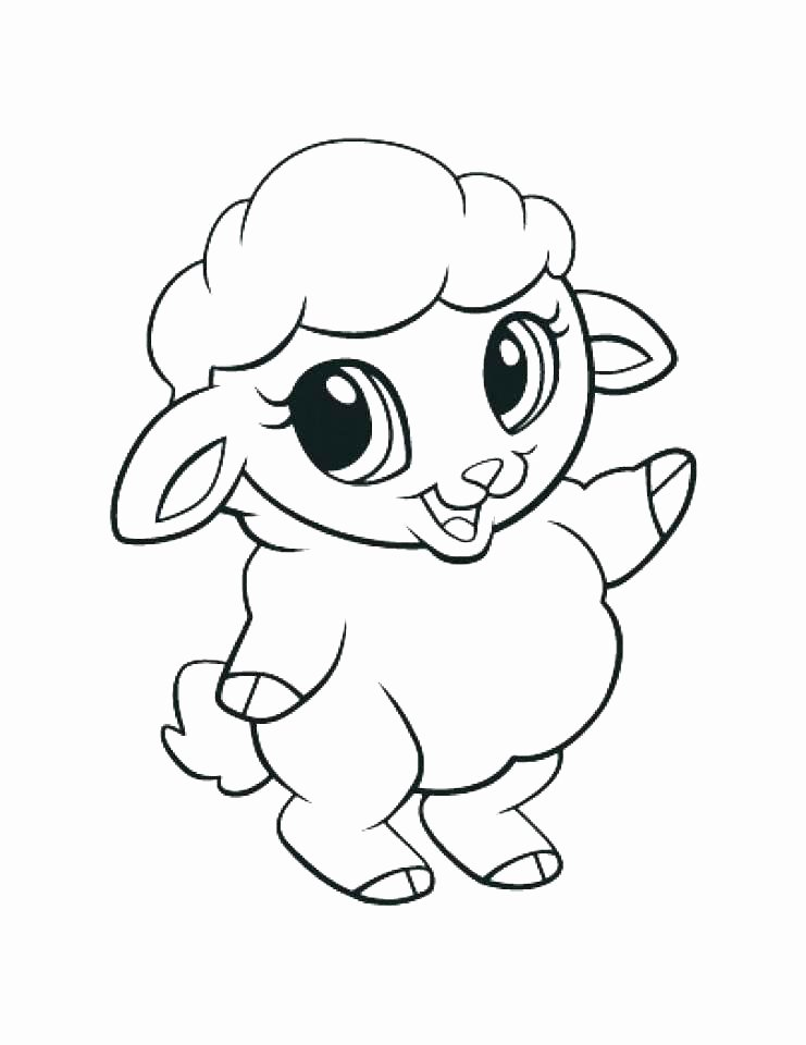 Baby Animal Colouring Pictures Luxury Cute Animal Coloring Pages Best Coloring Pages for Kids