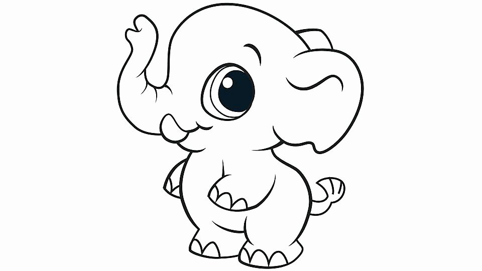 Baby Animal Colouring Pictures Unique Cute Animal Coloring Pages Best Coloring Pages for Kids