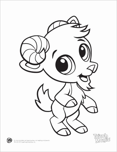 Baby Animal Colouring Pictures Unique Learning Friends Goat Baby Animal Coloring Printable From