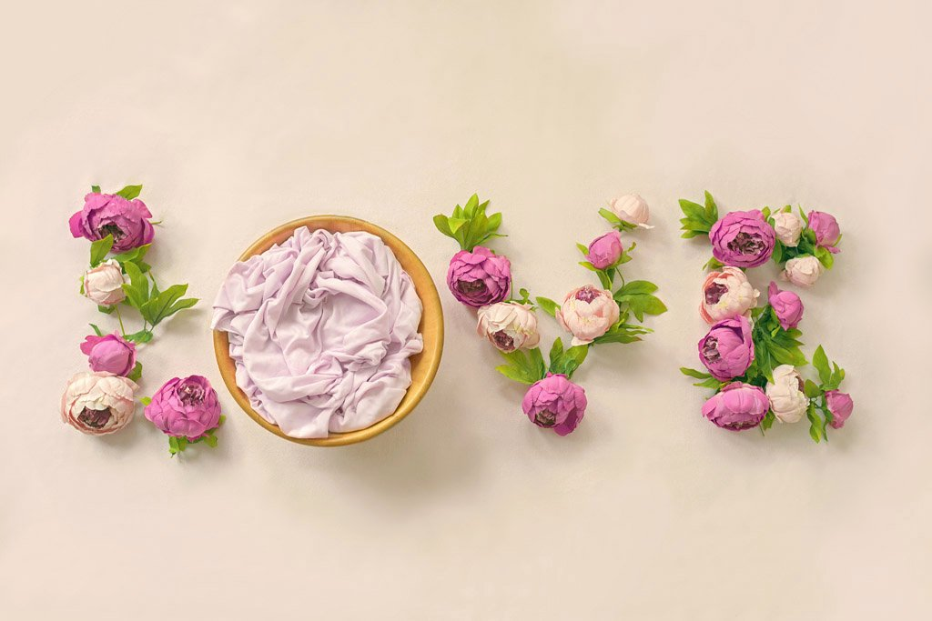 Baby Backgrounds for Photoshop Luxury Newborn Digital Backdrop Love Instant Floral