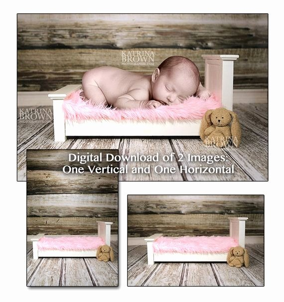 Baby Backgrounds for Photoshop New Baby Girl Pink Bed Digital Background 2 Digital Files