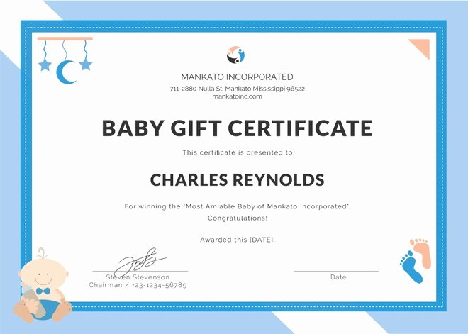 Baby Blessing Certificate Template Awesome Baby Dedication Certificate Template 21 Free Word Pdf