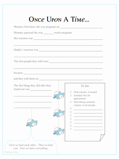 Baby Book Template Pages Best Of Diy Baby Memory Book Ideas