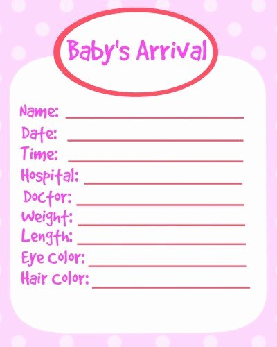 Baby Book Template Pages Best Of Printable Baby Book Pages Girl