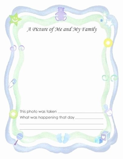 Baby Book Template Pages New 25 Best Ideas About Baby Book Pages On Pinterest