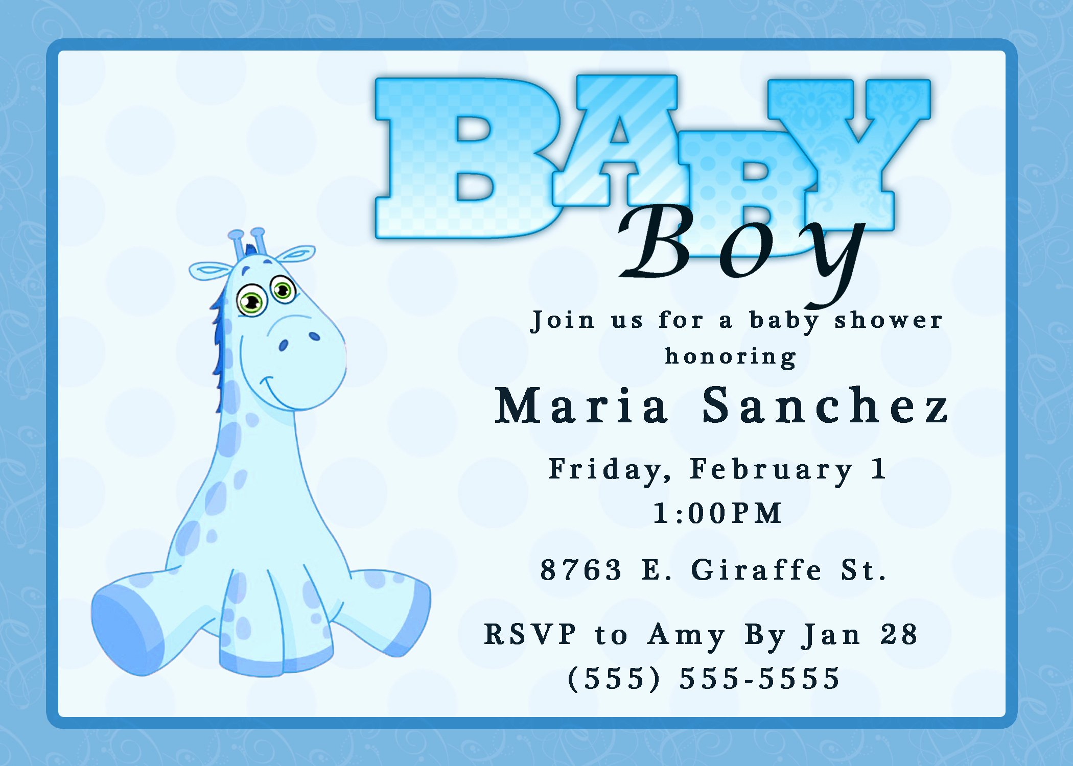 Baby Boy Invitations Free Elegant Baby Shower Invitations
