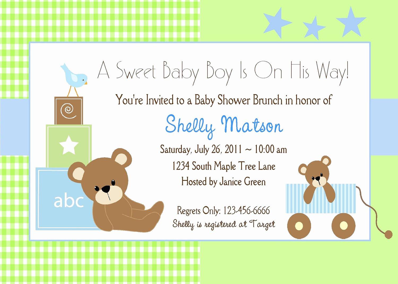 Baby Boy Invitations Free Elegant Free Baby Boy Shower Invitations Templates Baby Boy