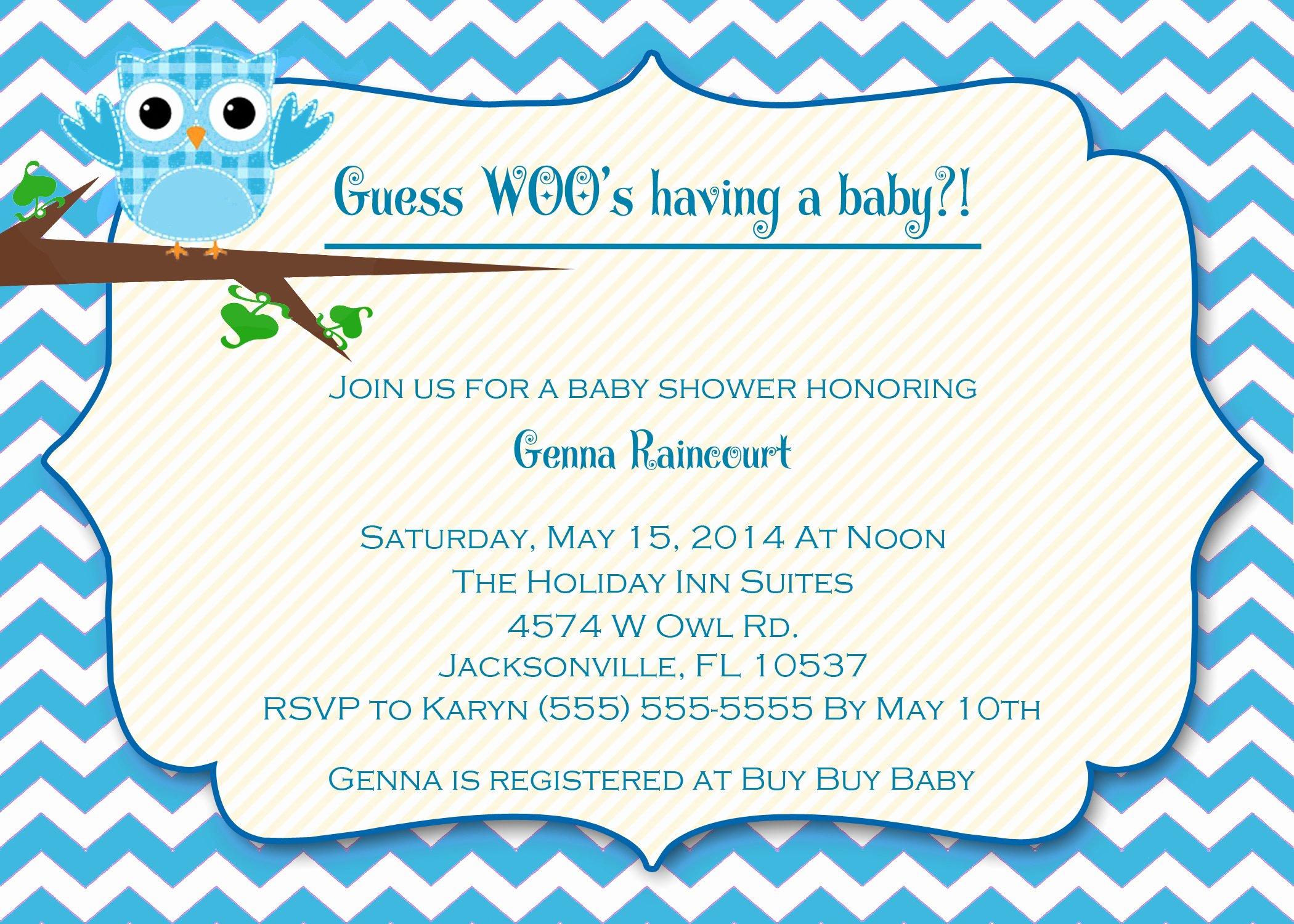 Baby Boy Invitations Free Inspirational Owl Baby Shower Invitations