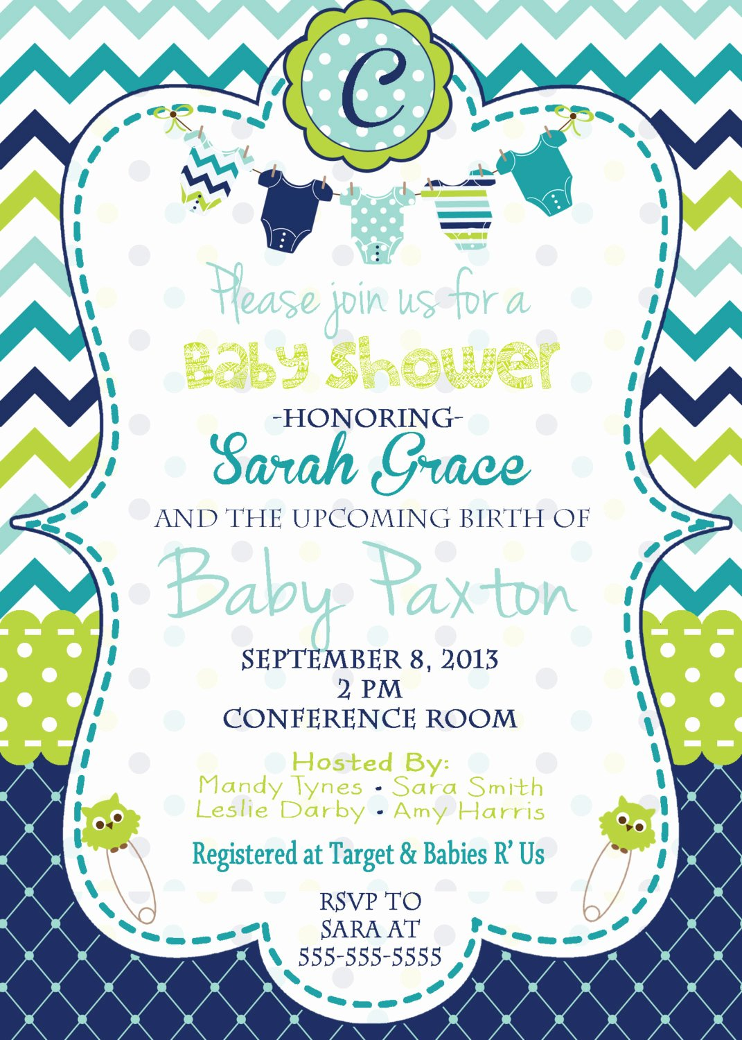 Baby Boy Invitations Free Lovely Baby Boy Baby Shower Invitation Baby Shower Invitation Blue