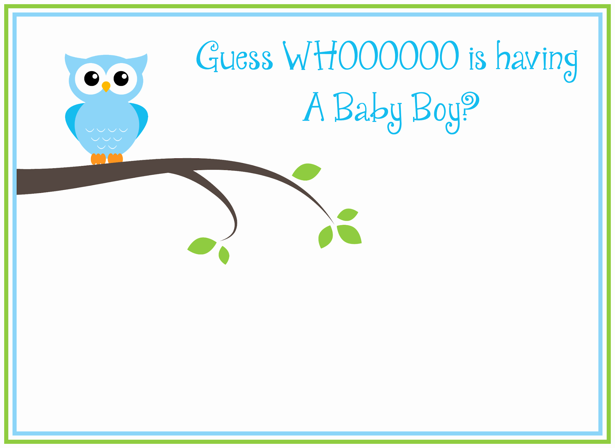 Baby Boy Invitations Free Lovely Free Printable Owl Baby Shower Invitations