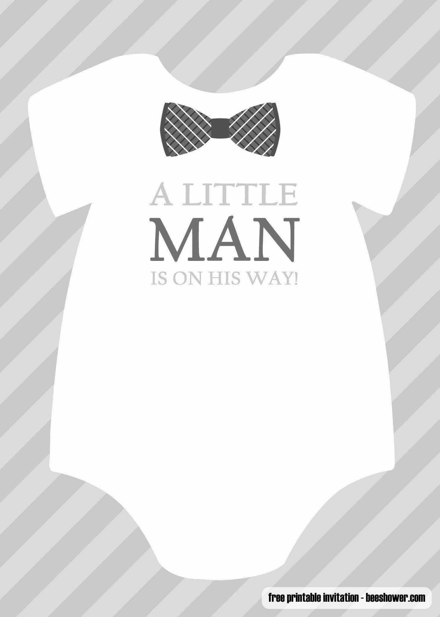 Baby Boy Invitations Free New Free Boy Baby Shower Invitations Templates